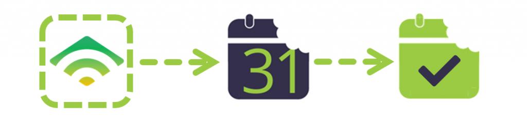 Calendar Snack Klaviyo CTA Link